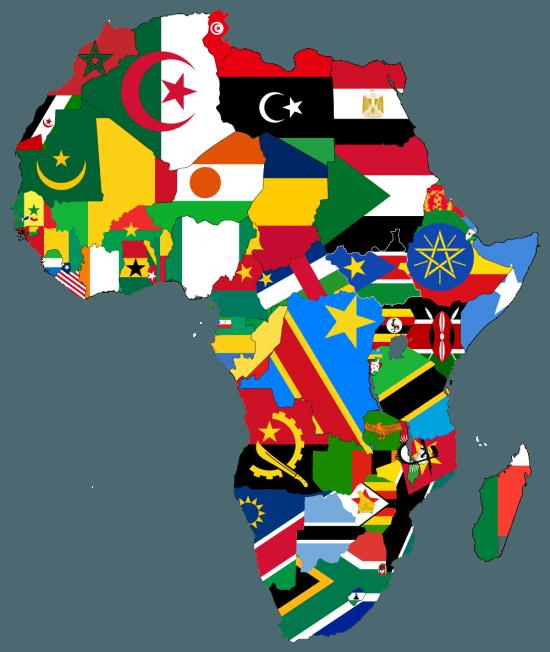 flagsmap africa