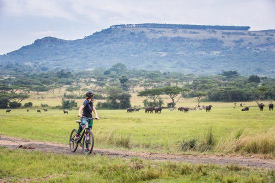 Cycling at the Karkloof Safari Spa