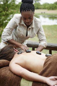 Tratamientos de spa en Khwai River Lodge