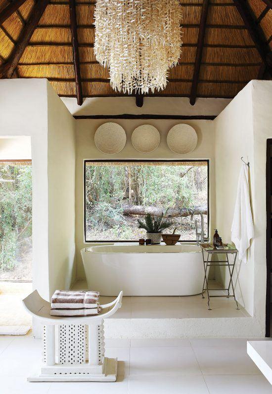 Campements du Parc Kruger | Salle de bain au Tree Camp