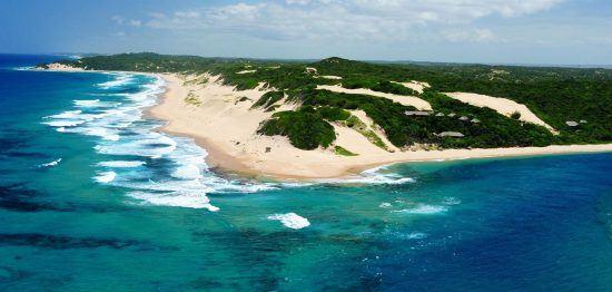 Machangulo beach in Mozambique