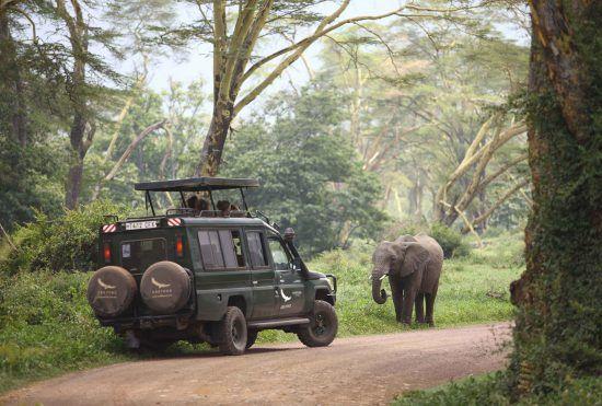 Ngorongoro Crater Lodge review on safari