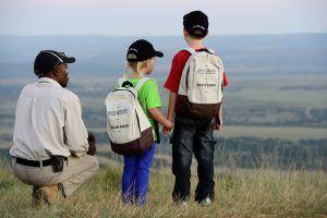 Safari con niños en la Reserva de Animales Shamwari
