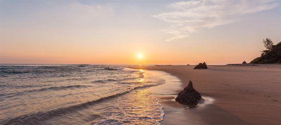 Sunset in Inhambane Mozambique