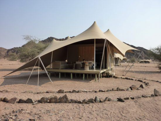 Hoanib Skeleton Coast camp in Namibia