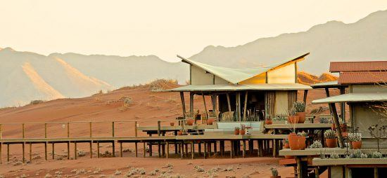 Lounge Wolwedans Dunes Lodge