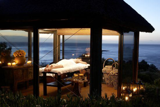 Spa at the Twelve Apostles Hotel and Spa in Cape Town