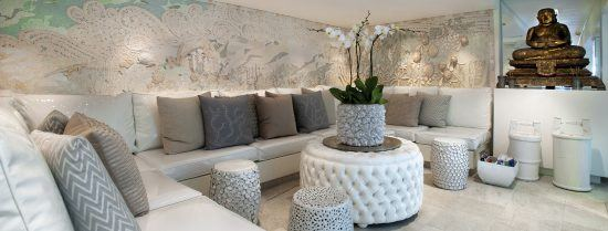 Spa Registration Lounge at the Twelve Apostles Hotel and Spa