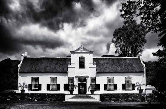 The main building at Buitenverwachting wine estate