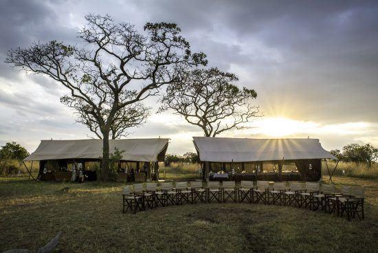 Serengeti Under Canvas communal tents