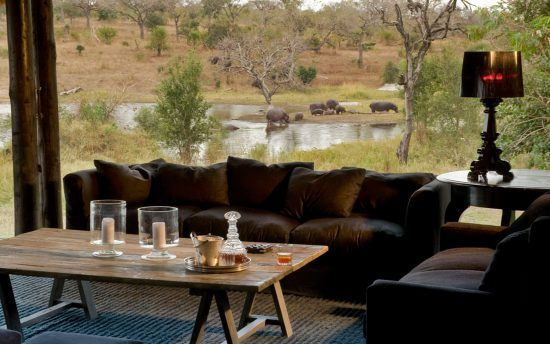 Lounge in der Chitwa Chitwa Game Lodge