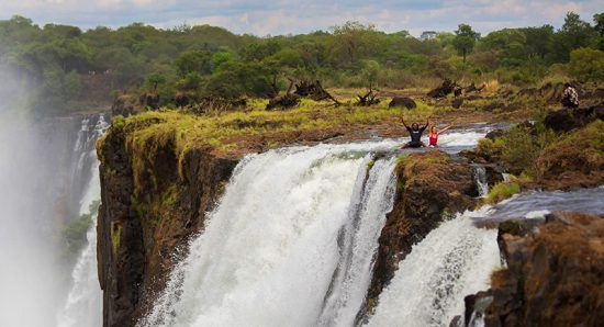 Devil's Pool — aventura em Victoria Falls