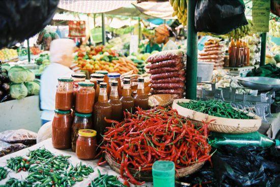 Markt Mosambik