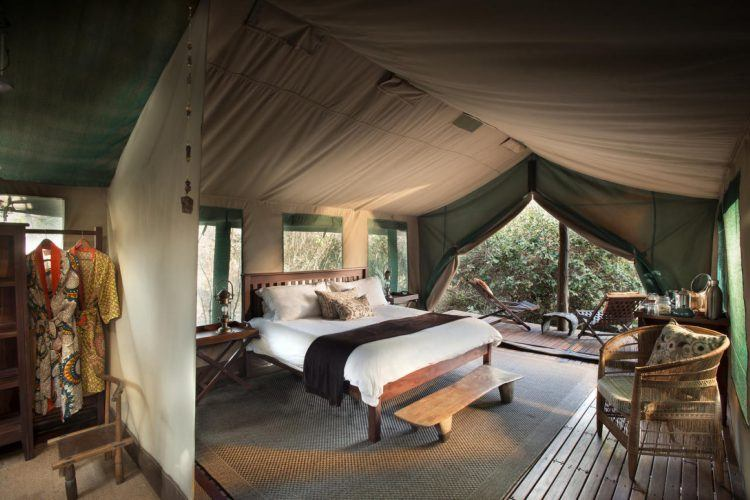 Kanga Camp Safari Lodge au Zimbabwe, offre safari d'African Bush Camp