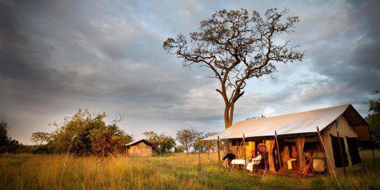 Serengeti Camp, acomodação no Serengeti National Park, Tanzânia