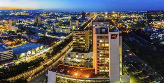 Die pulsierende Hauptstadt von Sambia: Lusaka am Abend