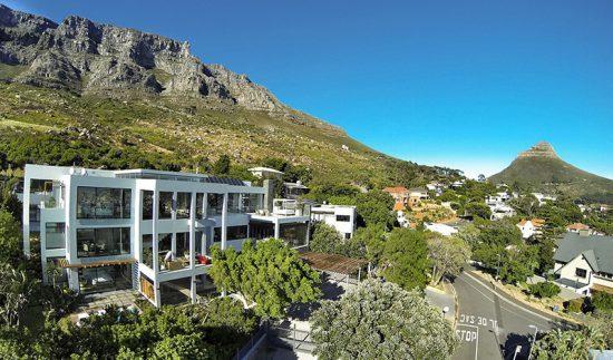 Hospedagens de luxo na África: Vista aérea do Mannabay, em Cape Town, África do Sul