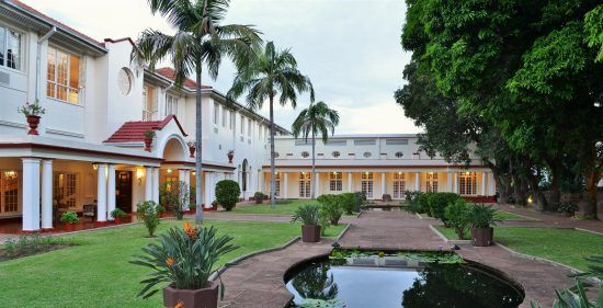 Gartenanlage Victoria Falls Hotel