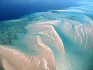 El archipiélago de Bazaruto, Mozambique, el Océano Índico