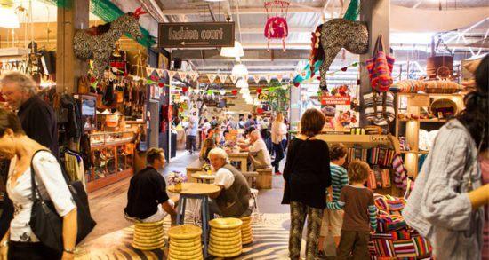 Marktstände in Hout Bay