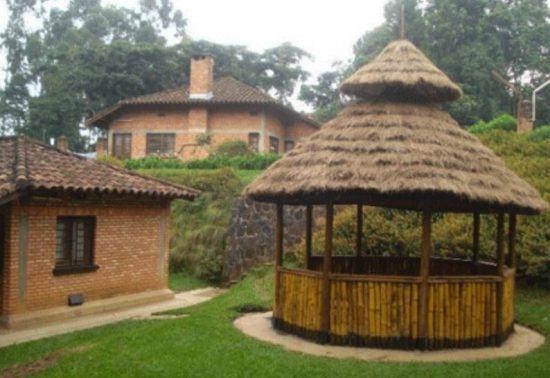 Außenbereich Lodge