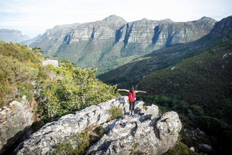 Randonnée au Cap sur Table Mountain, Afrique du Sud