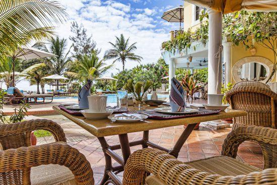 Resort on Kenya's beaches and coastline