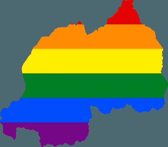 Gayflagge Ruanda