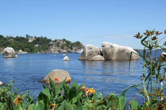 Victoriasee bei schönem Wetter