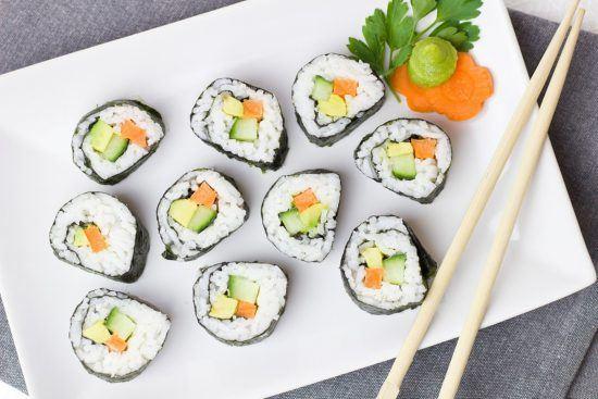 Veganes Sushi