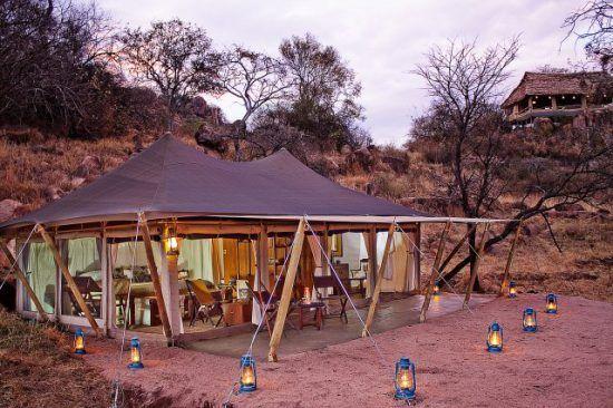 Außenansicht Serengeti Pioneer Camp