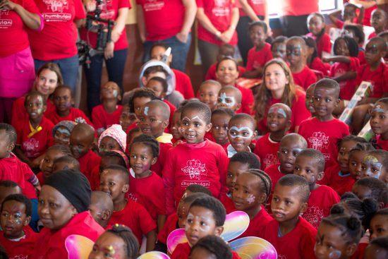 Die Weihnachtsfeier 2017 im Khumbulani Day Care Centre in Khayelitsha
