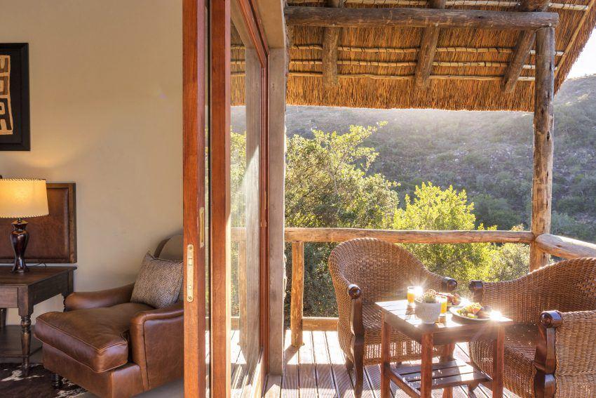 Außenbereich Lentaba Safari Lodge