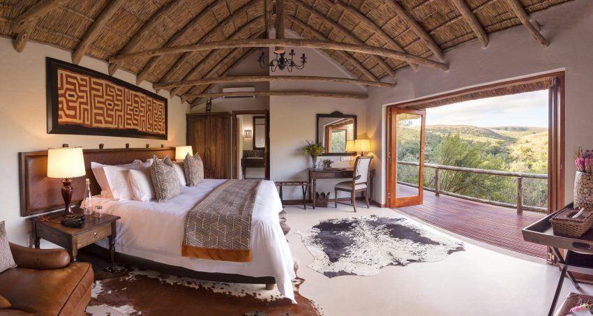 Luxuriöse Zimmer in der Lentaba Lodge