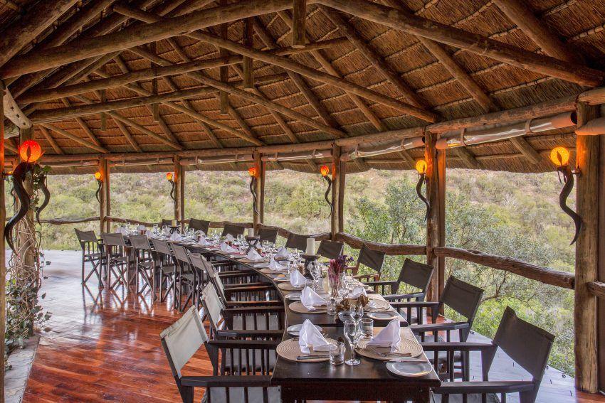Außenbereich Lentaba Lodge