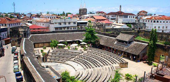 Anfiteatro em Stone Town, Zanzibar