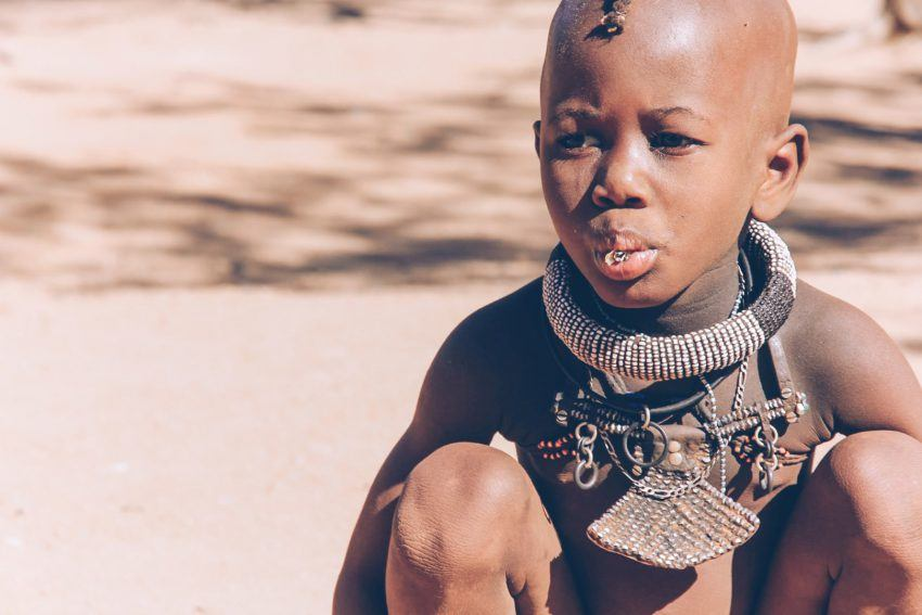 Himba-Schmuck in Namibia