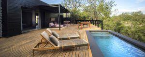 Un des lodges safari insolites en Afrique : le Silvan Safari, Afrique du Sud.