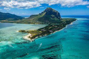 Vita aérea de Isla Mauricio