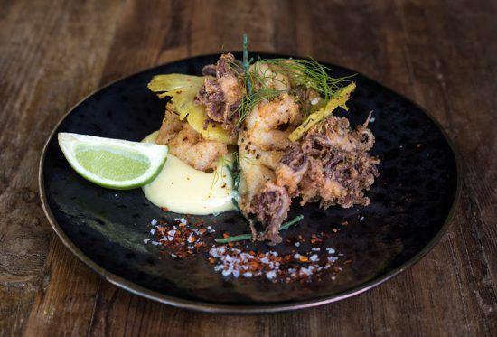 Exemplo de refeição servida no lodge, que conta com um menu com uma fusão asiática. Foto; Silvan Safari