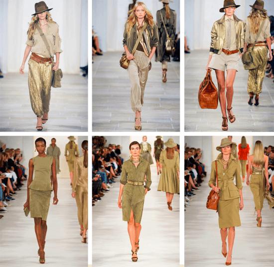Moda de safári: Ralph Lauren