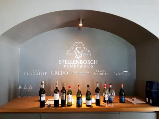 Alcove at Stellenbosch Vineyards