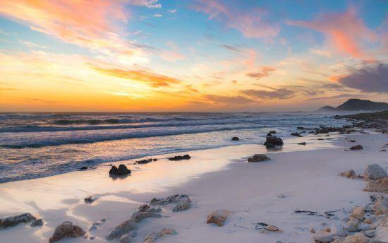 Sonnenuntergang Meer