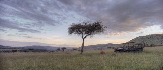 Have the landscape all to yourself while on safari at Klein's Camp