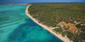 La villa privada Azura, en Mozambique, posee una de las mejores playa de África.