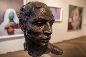 Sculpture présentée à la vente aux enchères d'ArtAngels Africa