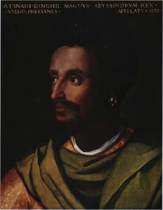 Dawit II, Emperor of Ethiopia, part of the Solomonic dynasty (a dynasty who claim to be descendants of King Solomon and the Queen of Sheba).