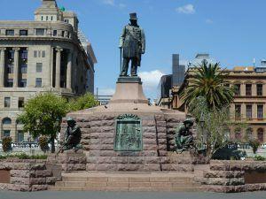 Statue de Paul Kruger à Pretoria