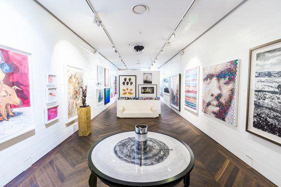 Galeria de arte de Ellerman House