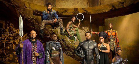 Los protagonistas de Black Panther